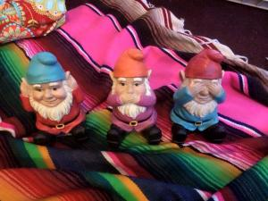 the three little gnomes that appeared today