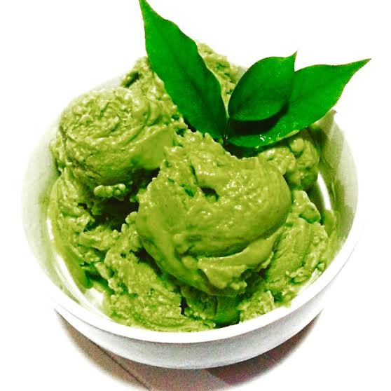 Laineyloveslife - Avocado Sorbet sherbet Ice Cream