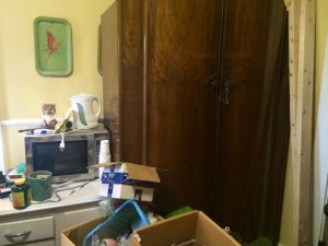 Wardrobe to Narnia. I am half-tempted to go there and leave this hell hole I call a house.