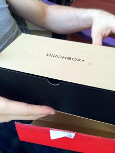 the Birchbox Man box this month was very nice and stylish. It's twice as big as the regular Birchboxes.