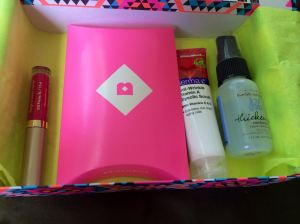 after opening the Birchbox Man first, my box was a bit anticlimatic