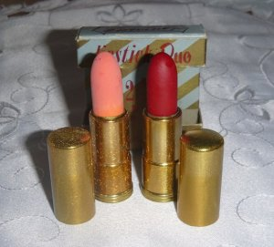 my mom actually owns lipsticks like these!
