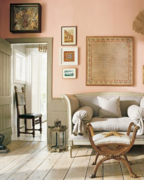 This Is The Very Pale Peach Color I Plan To Make From The Leftover Orange  Paint