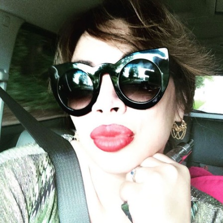 #biglipsdontcare feeling kind of 1980s today
